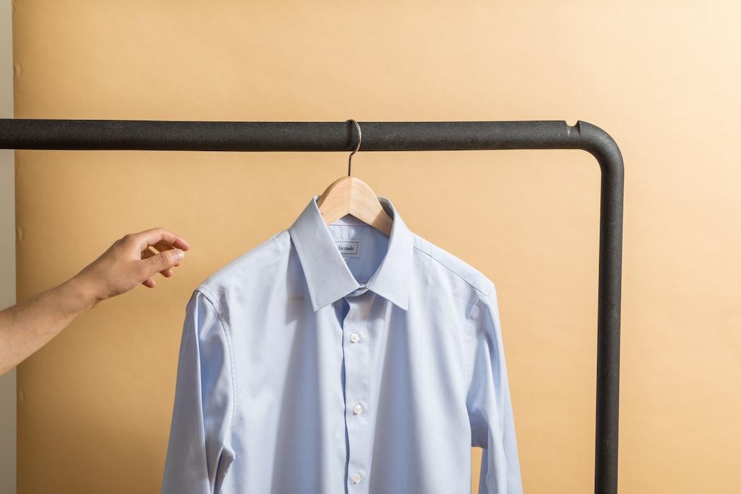 Impressie kleding verkopen