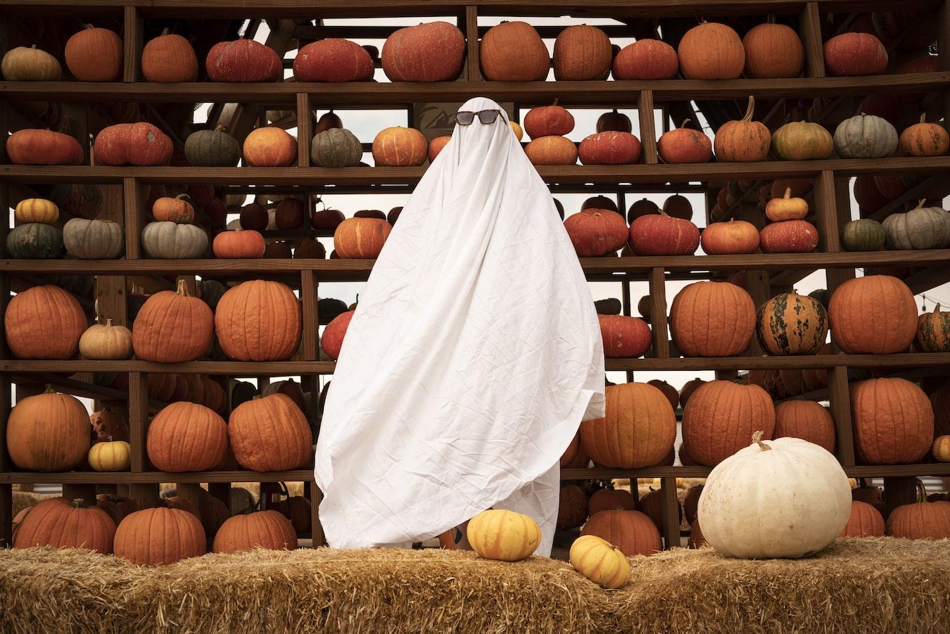 fantasmini di halloween