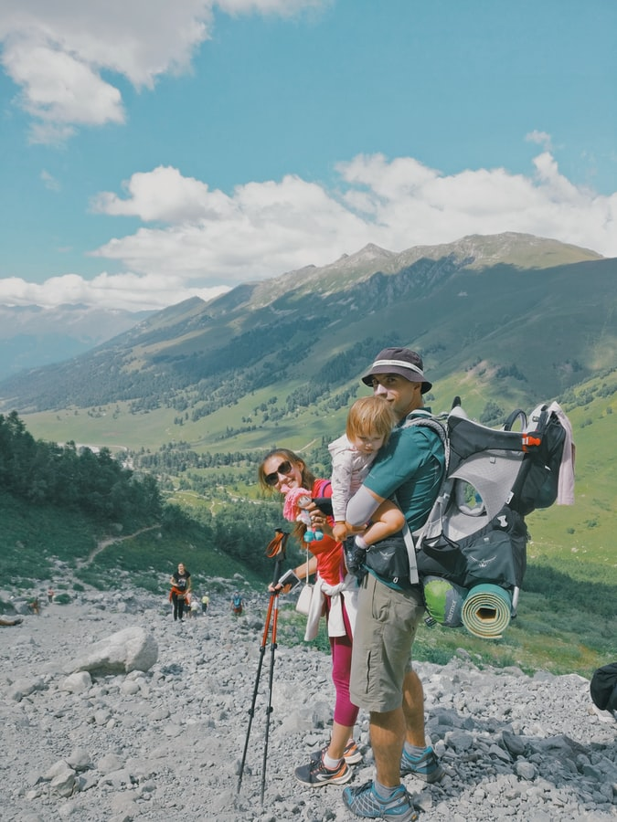 camping with family checklist kids hiking