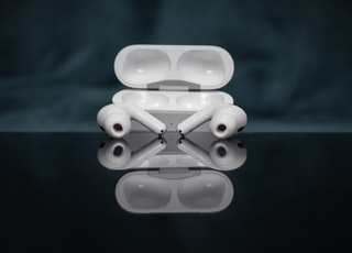 white and black plastic toy