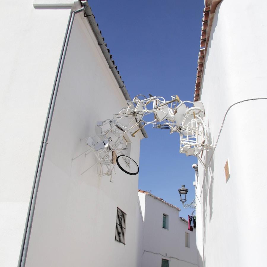 Arte en la calle  Genalguacil - el pueblo museo