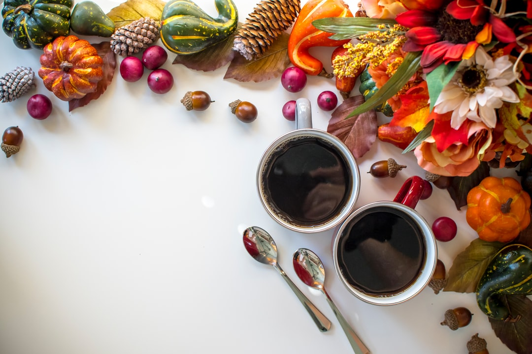 Cozy Coffee Fall Border - unsplash