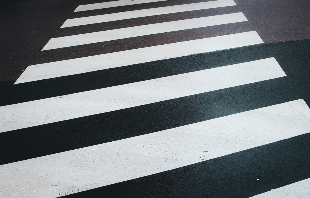 Zebra Cross-Walking Wet Street - unsplash