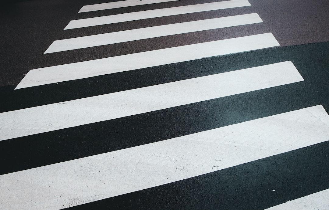 Zebra Cross-Walking Wet Street - unsplash