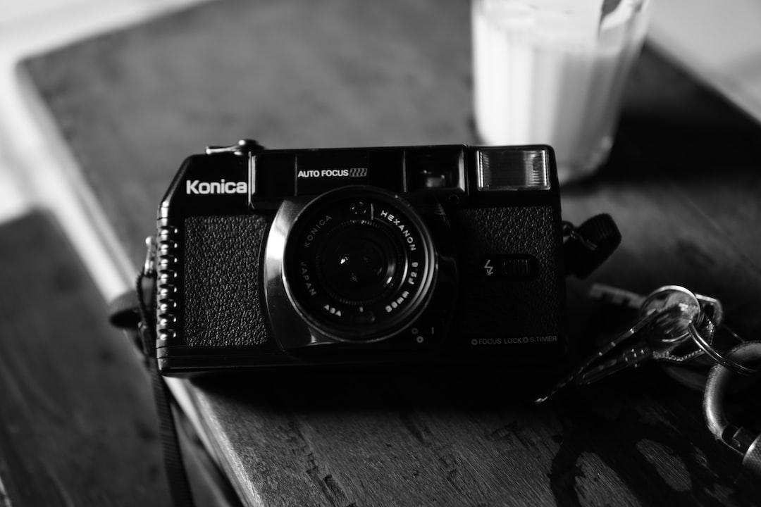 Black and Silver Nikon Camera - unsplash