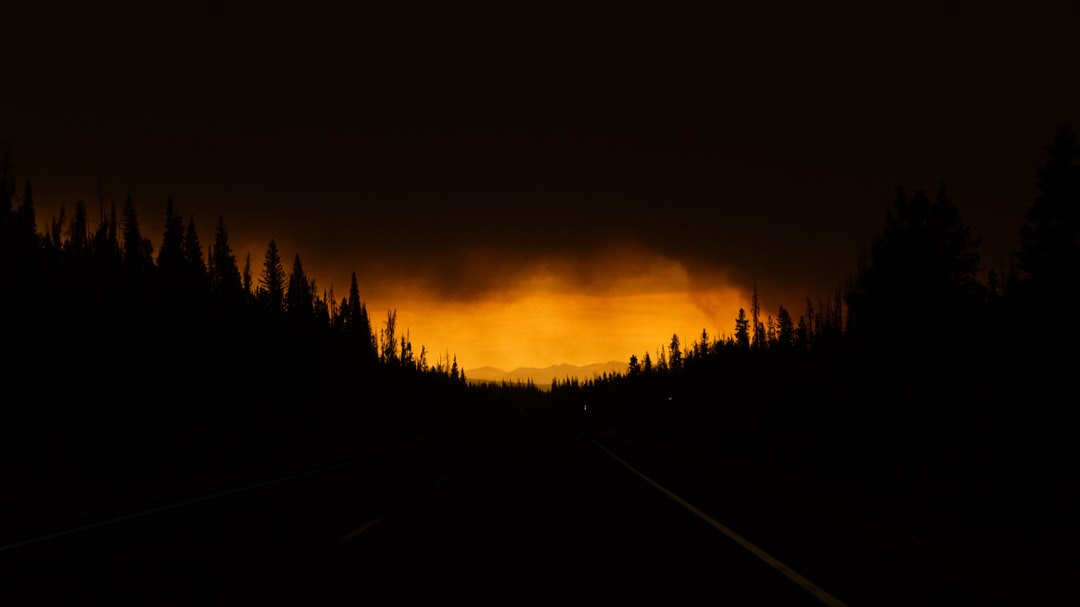 Smoke From the East Troublesome Fire Blankets Route 34 Exiting Rocky Mountian National Park - unsplash