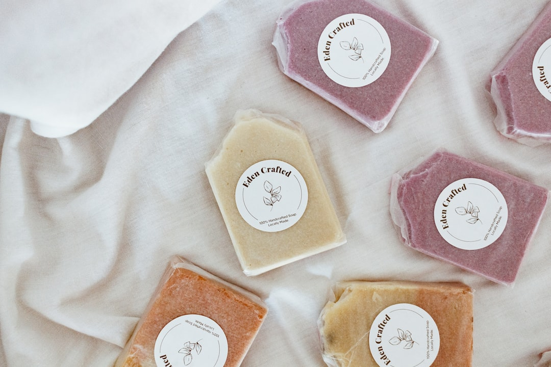 Handcrafted Organic Soap Product Shots - unsplash