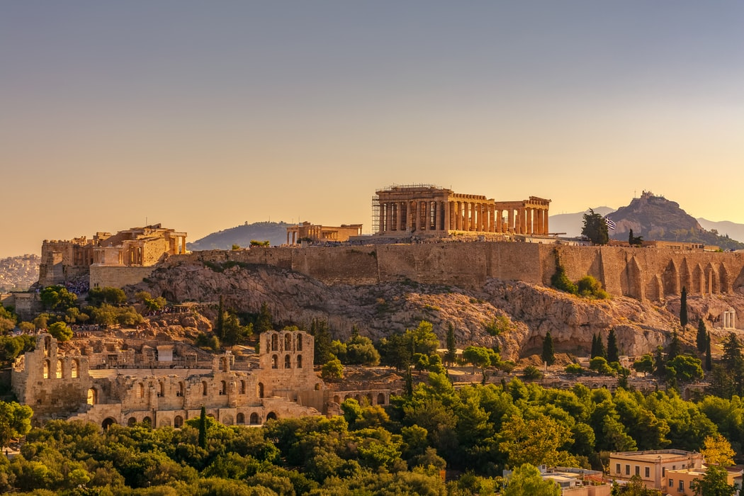 Acropolis of Athens, Heritage sites in Greece