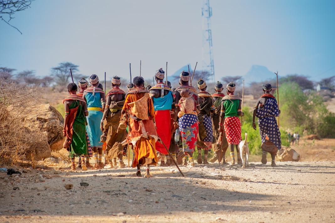 Traditional Samburu Women