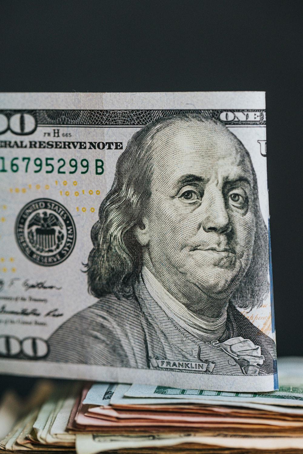 100 us dollar bill