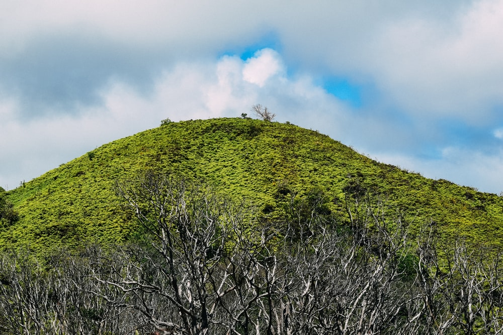green mountain under blue sky during daytime