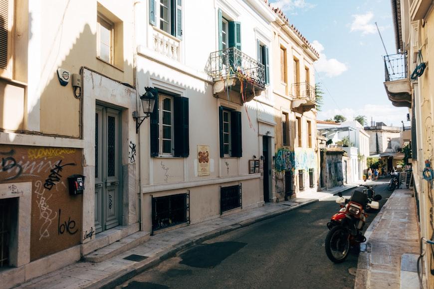 Athens city street