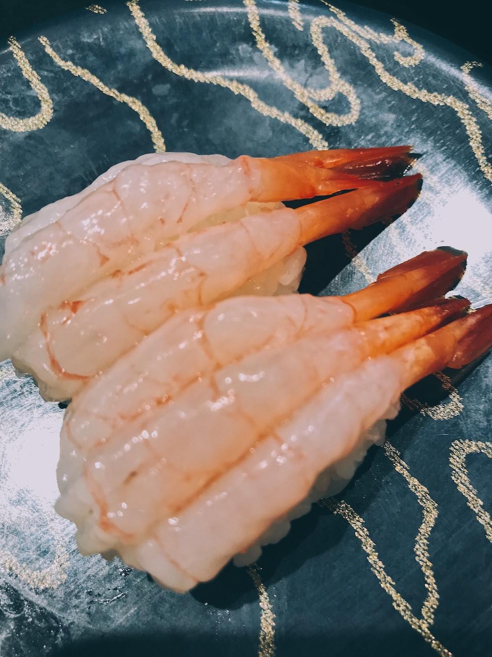 orange and white plastic gloves