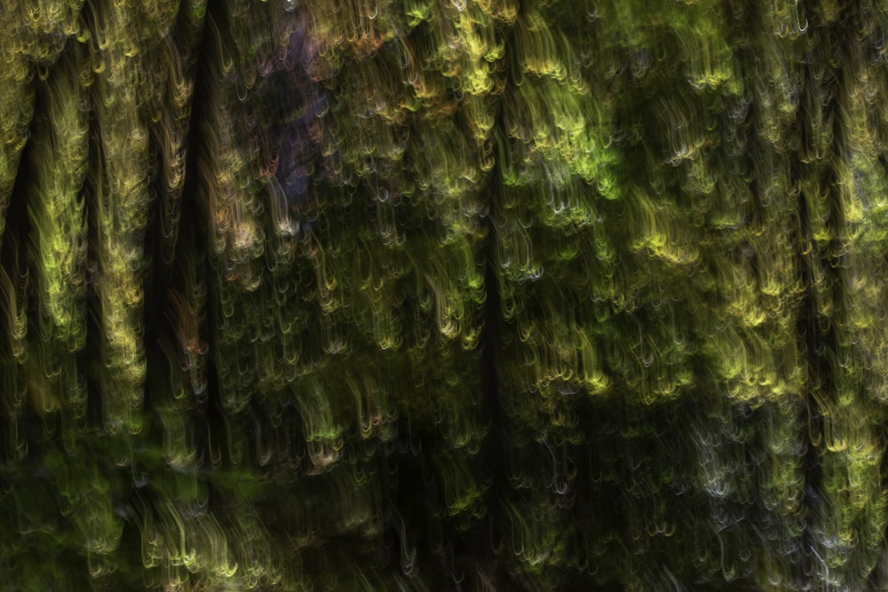 green purple and white textile