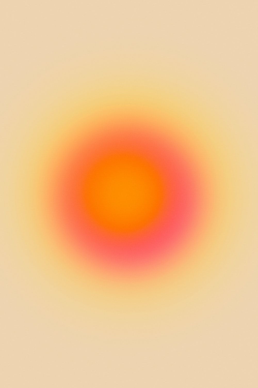 yellow and orange sun illustration