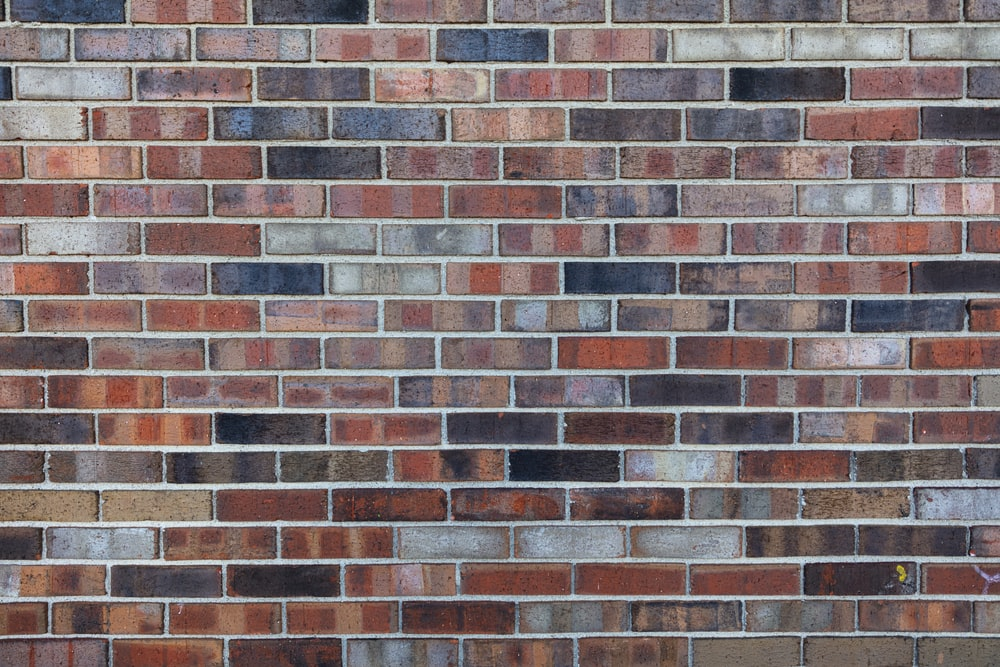 brown and black brick wall
