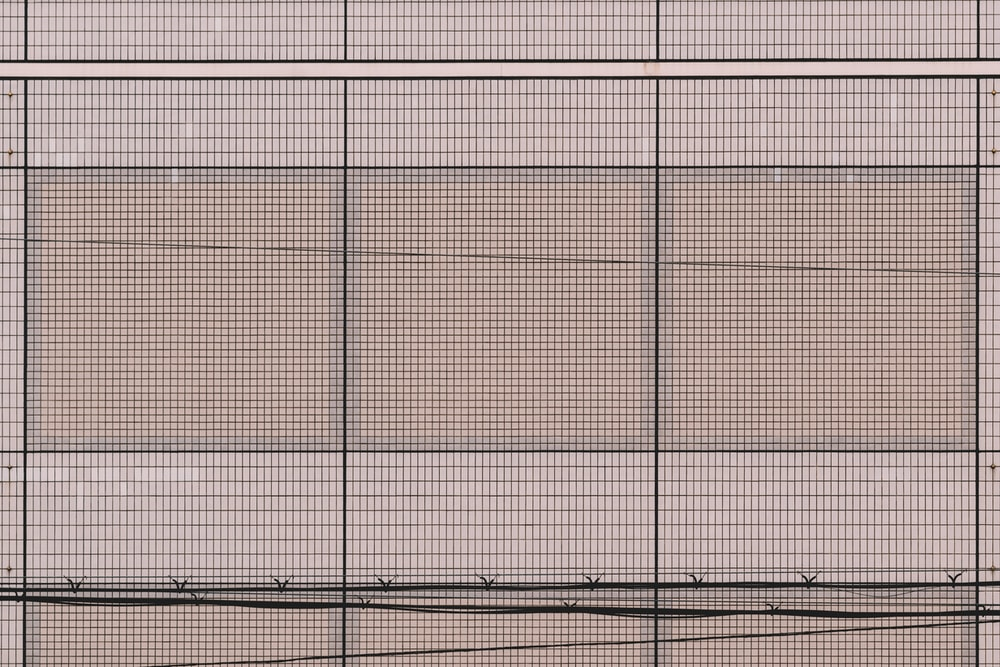 white and black grid pattern