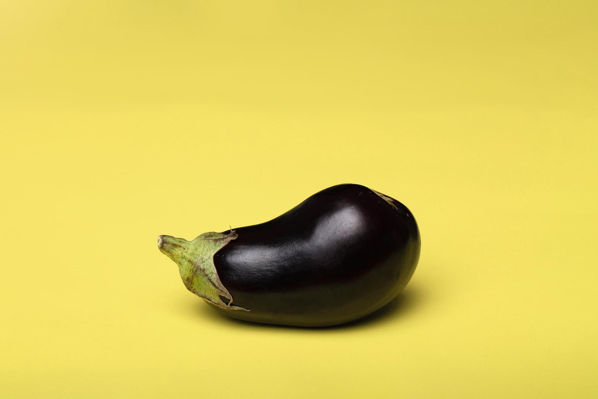 Aubergine is a purple rainbow food by Deon Black for Unsplash