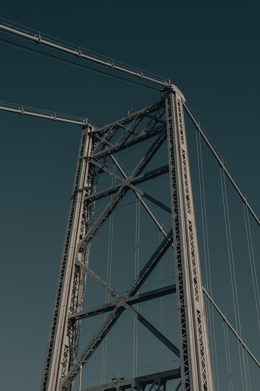 gray steel bridge under blue sky during daytime