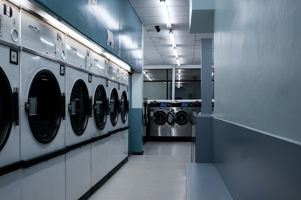 white front load washing machines