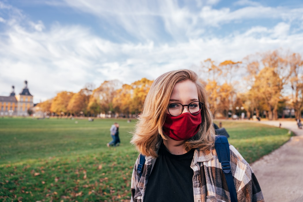 ben aşılıyım maskesi