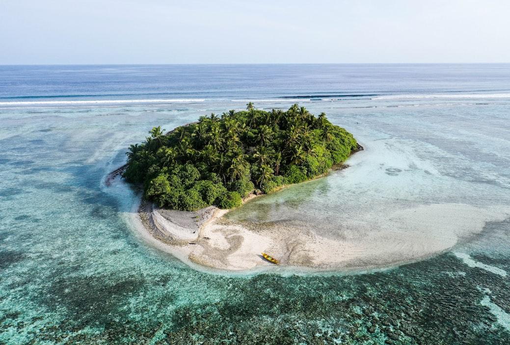 Gaafu atoll maldives