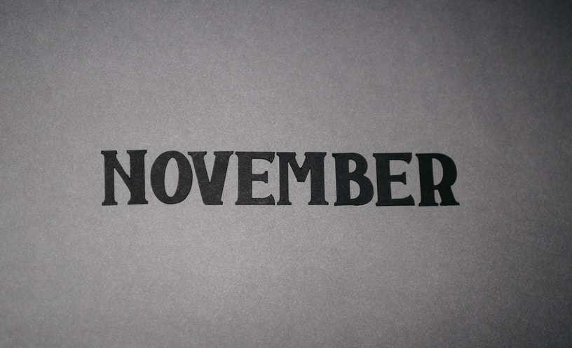 Paper cutout november