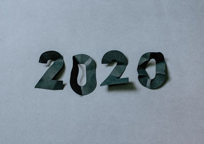 Crumpled 2020 numbers