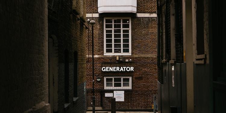 Generator Hostel, London, October 2019