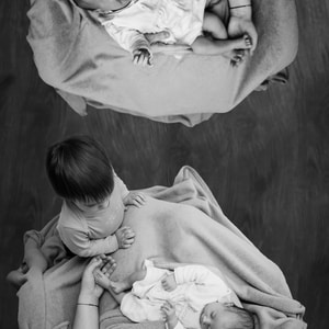 This image is a remake of this one - https://unsplash.com/photos/BYRAglAqrtQOn the top part of the image is Olga, my first daughter, who is crying. In the bottom part, is Olga with her sister, Thea. Olga now has almost 2 years while her sis has few days.Phase III, and the last one, will appear next year! :) Enjoy it!