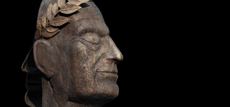 Portrait Julius Cäsar Bronze