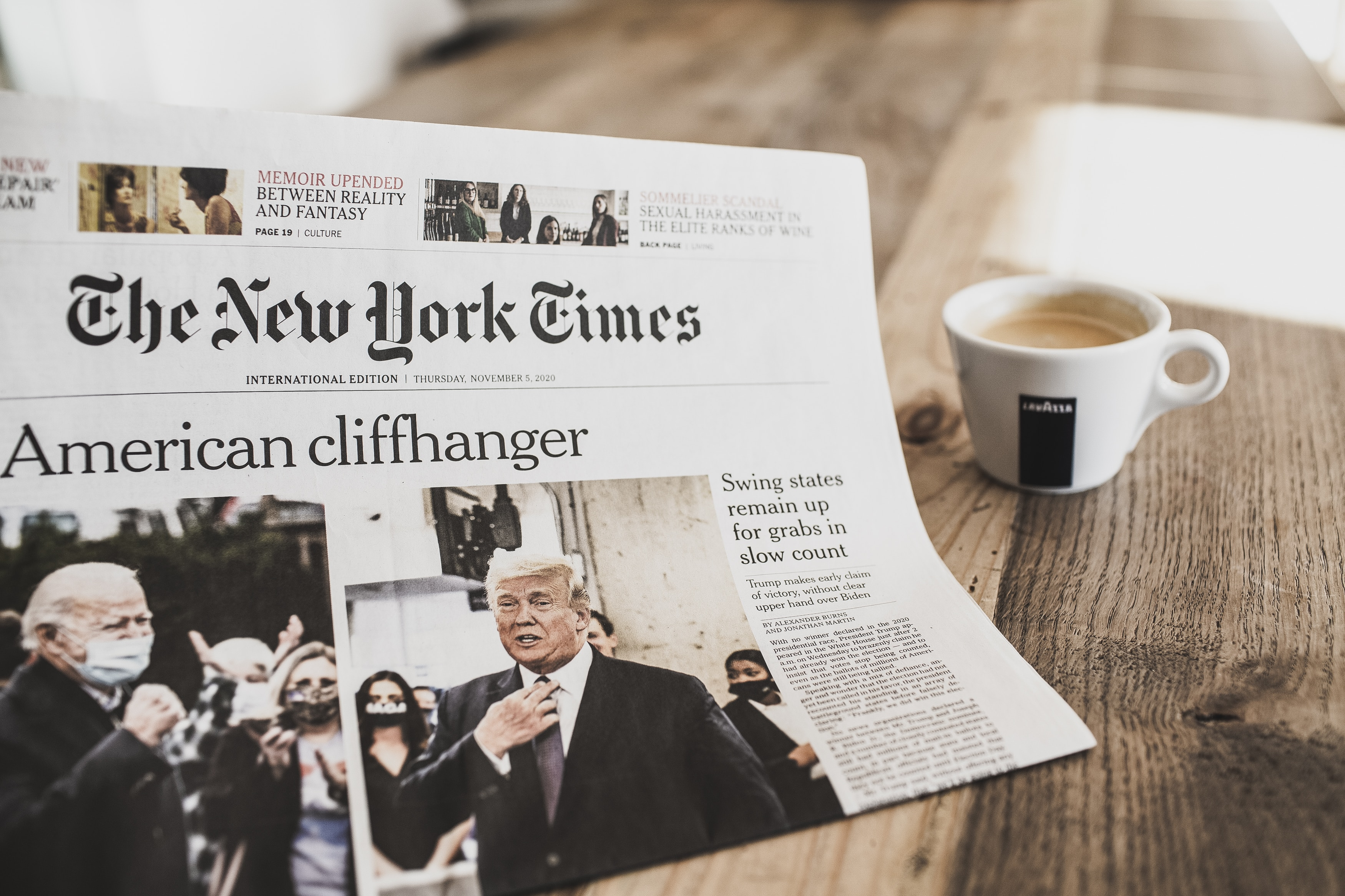 the new york times newspaper