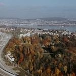 Autobahn Verzweigung Zürich SüdFreeway junction Zurich South