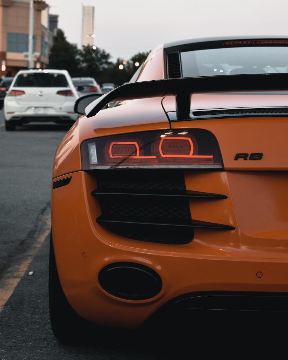 orange and black bmw m 3