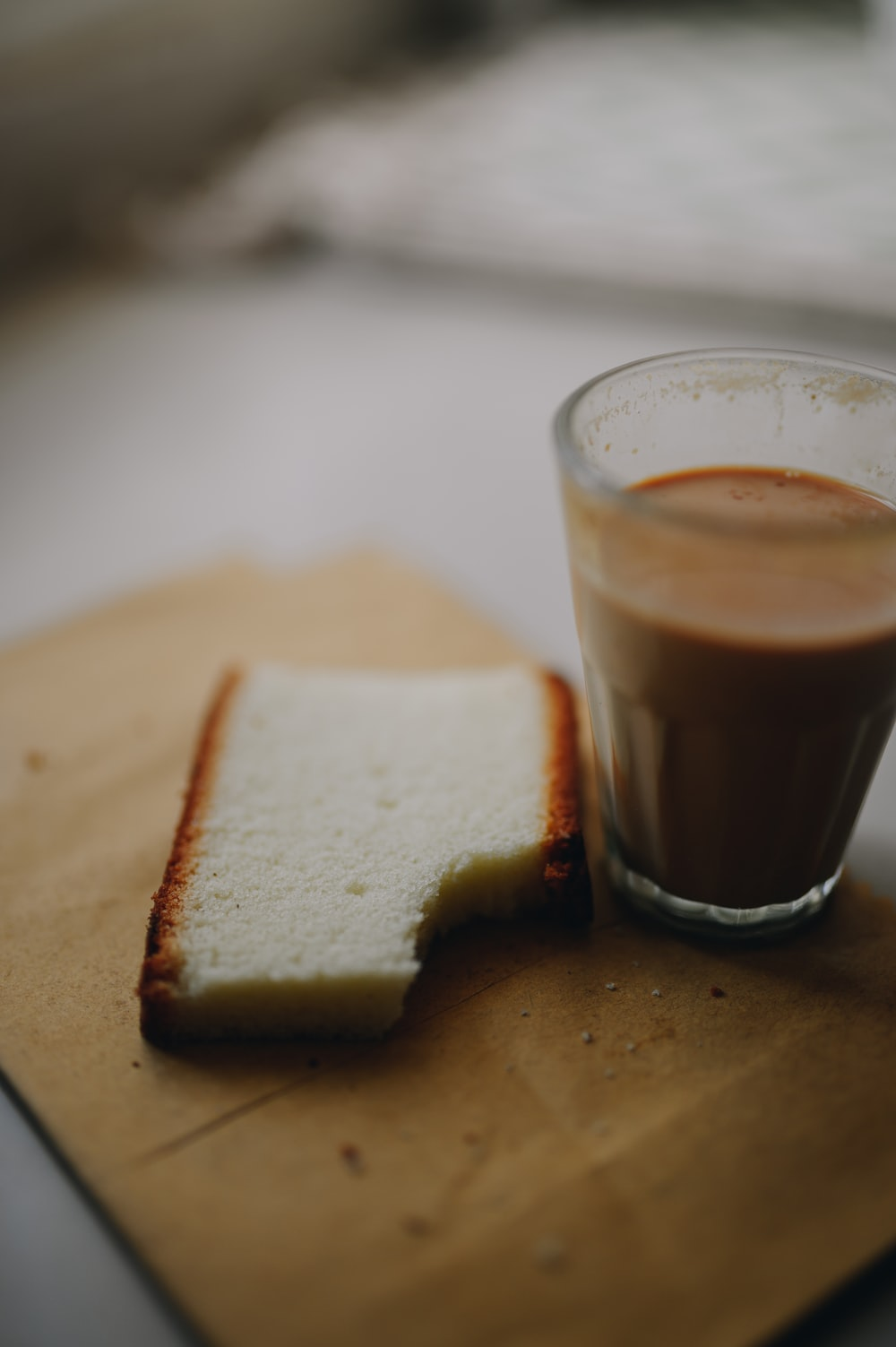 brown bread on brown wooden table