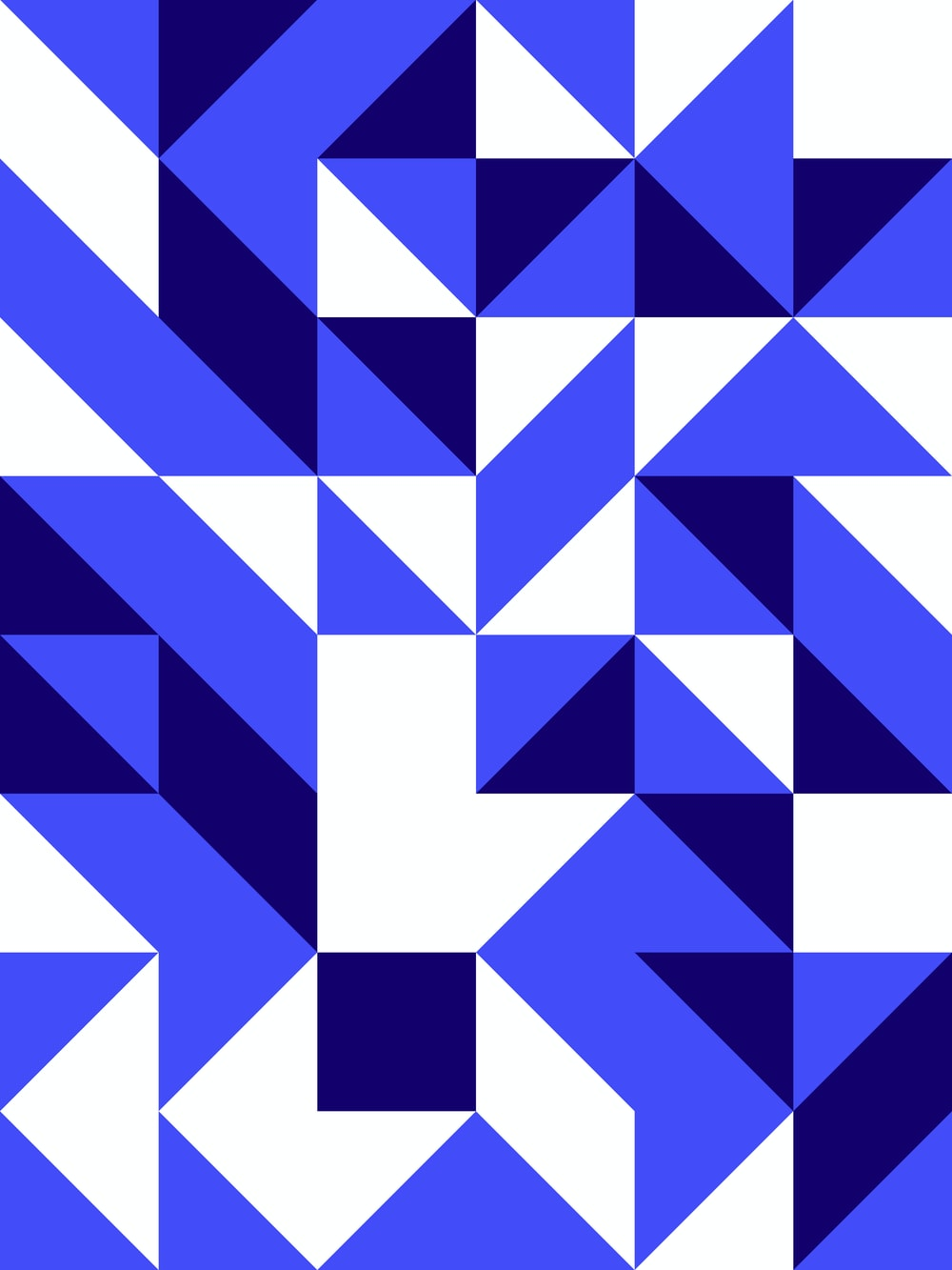 blue and white checkered pattern