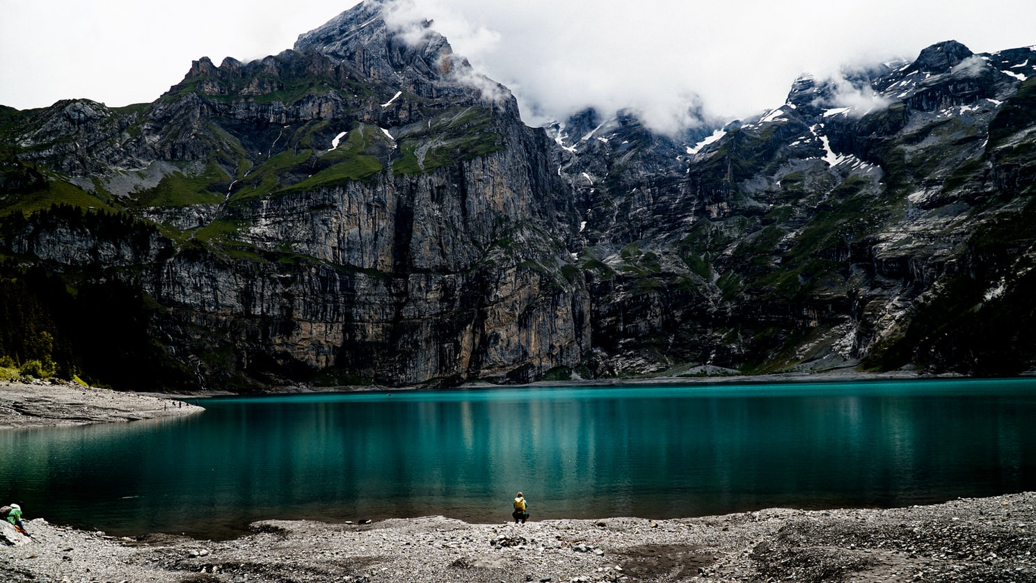 Oeschinensee Lake, Best Hiking Places in Switzerland