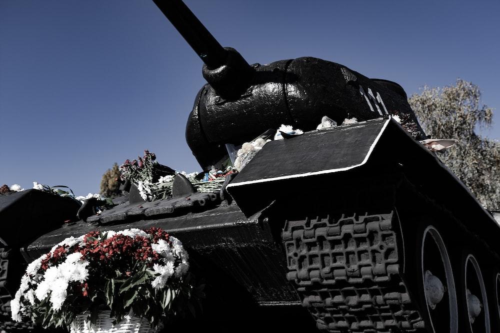 black tank under blue sky during daytime