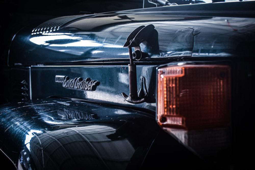 black chevrolet camaro in a car