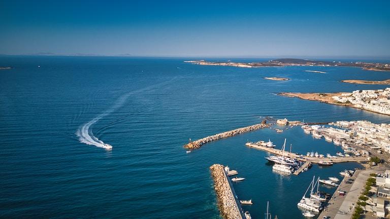 white ship on blue sea during daytime