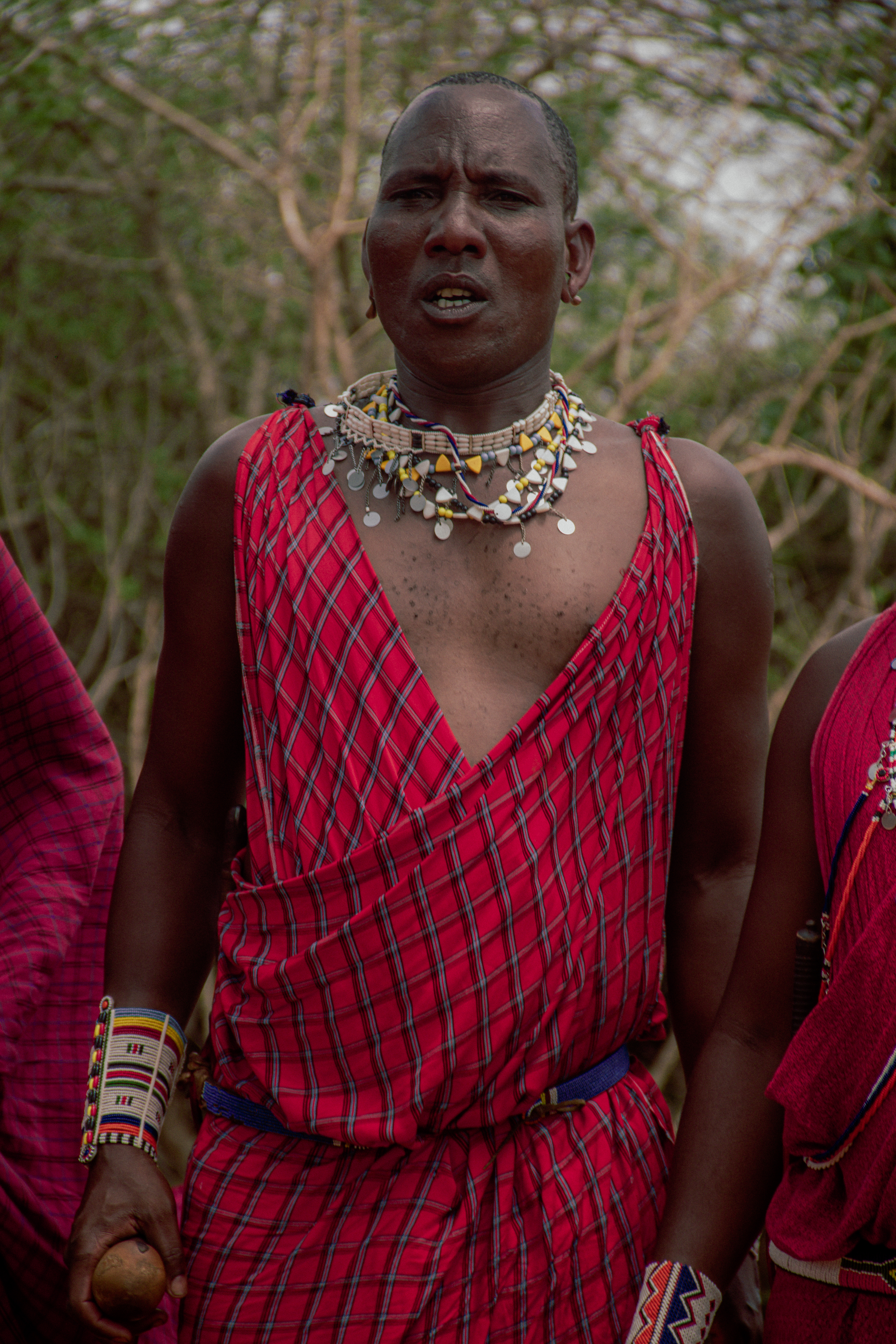 African tribal dress
