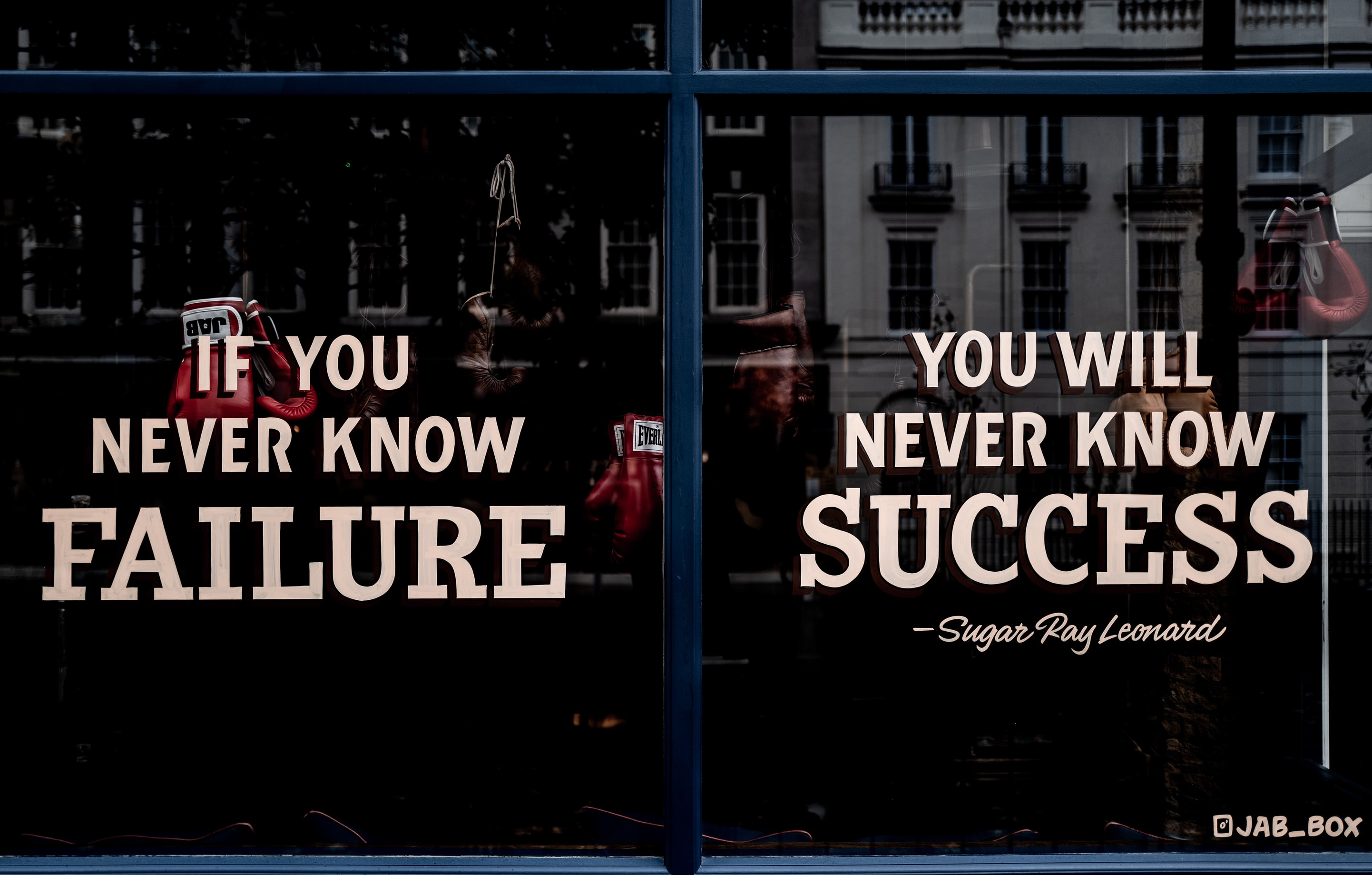 The Importance of Mastering Failure