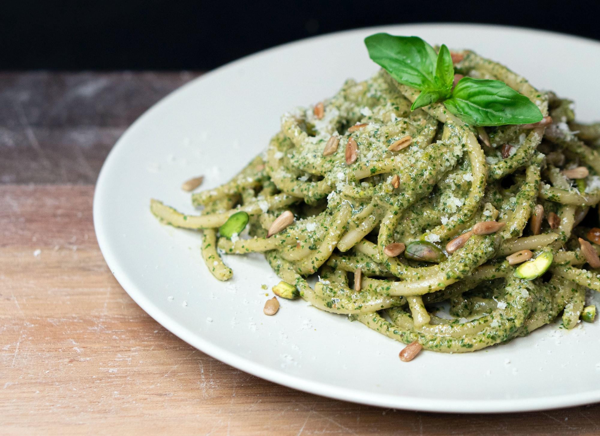 Machine Learning Making Pesto Tastier