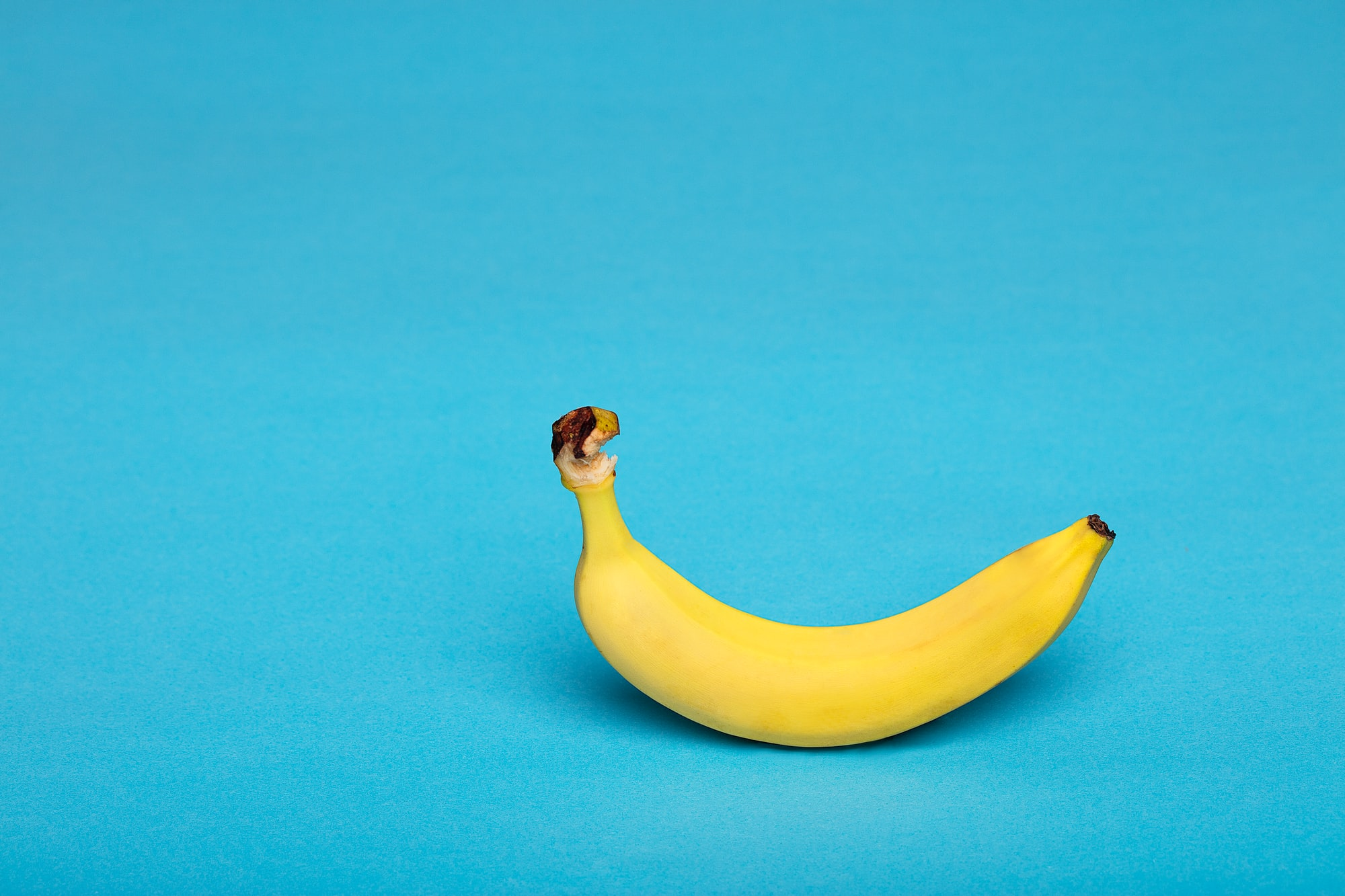Banana is a yellow rainbow food by Deon Black for Unsplash