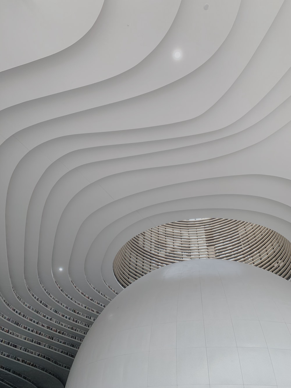 white concrete building interior during daytime