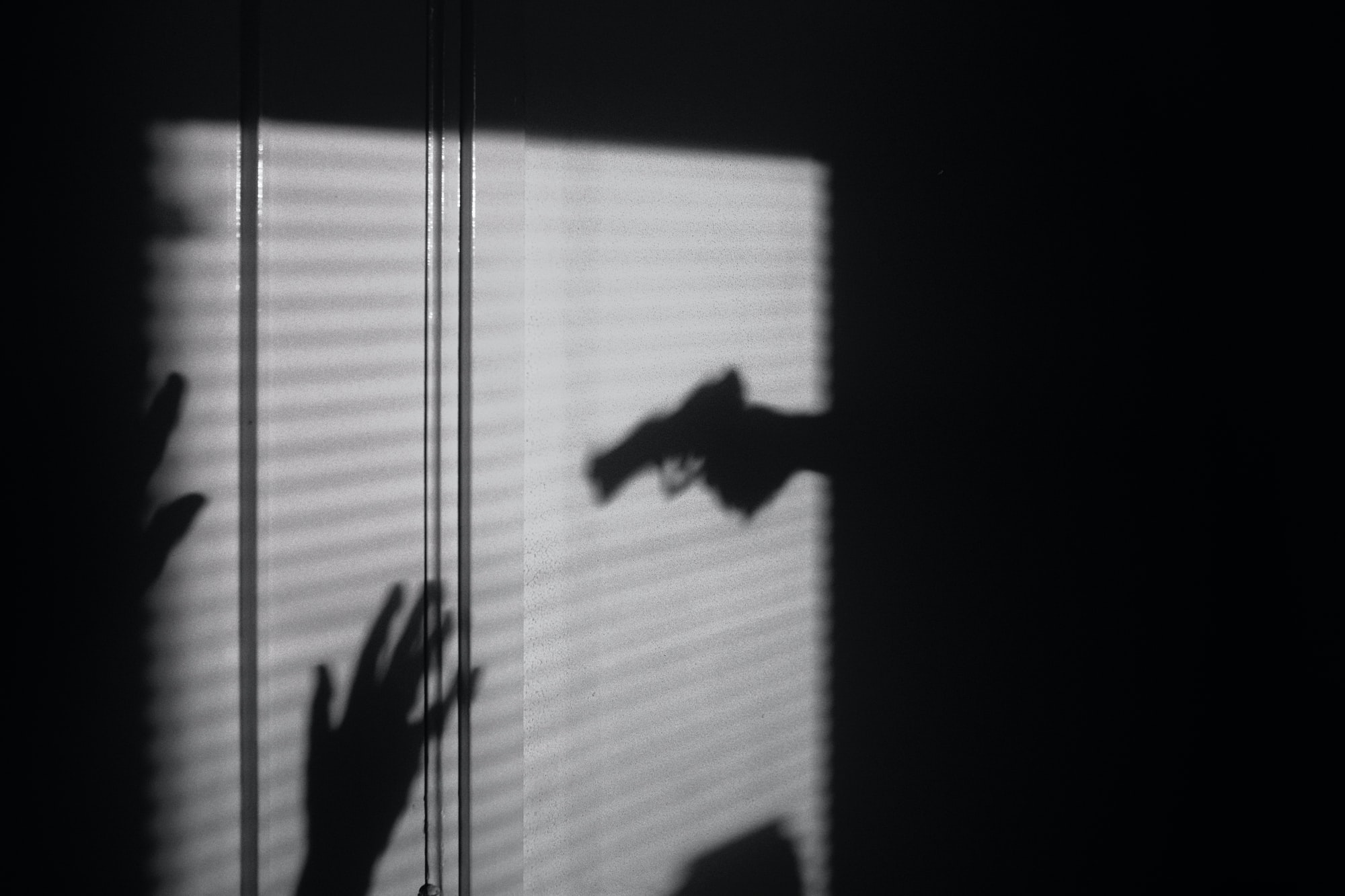 Held at gunpoint