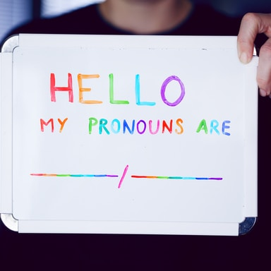 It's Time To Embrace All Gender Pronouns