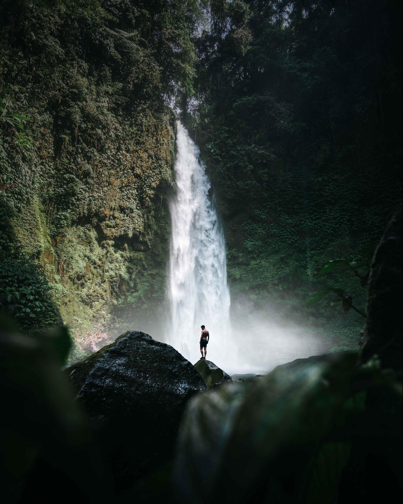 Climbing rocky strides, Best Adventure Activities in Bali