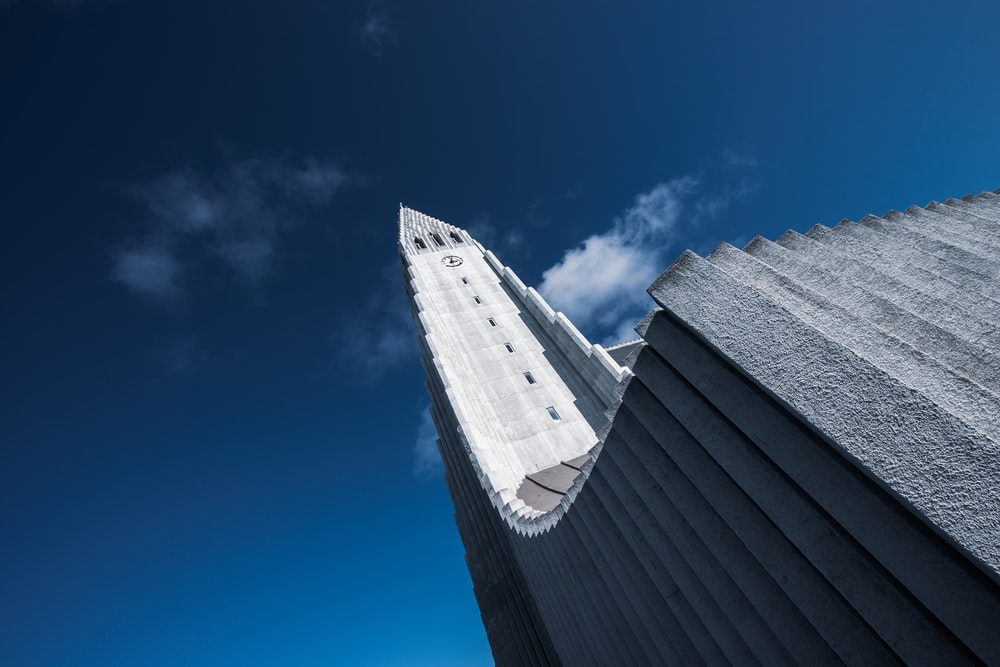 gray concrete building under blue sky during daytime