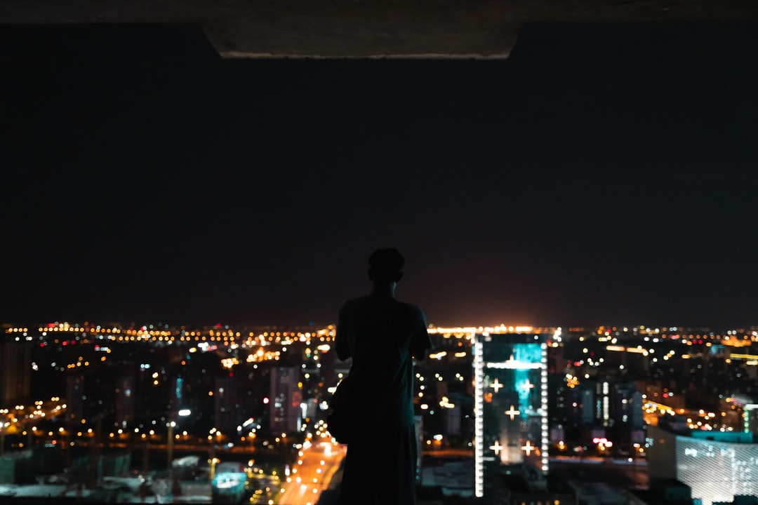 Man and Woman Kissing During Night Time - unsplash